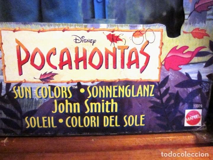 Muñecas Modernas: MUÑECO KEN DISNEY JOHN SMITH SUN COLORS. POCAHONTAS. MATTEL 1995. NUEVO - Foto 6 - 180508801
