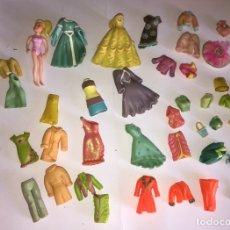 Muñecas Modernas: LOTE DE MUÑECA ACCESORIOS VESTIDOS ZAPATOS BOLSOS CONJUNTOS DE MATTEL. Lote 182485218
