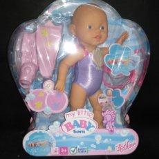 Muñecas Modernas: MY LITTLE BABY BORN NADADOR- ZAPF CREACION. Lote 182634796