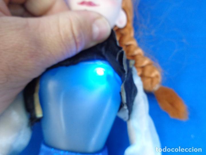 Muñecas Modernas: DISNEY - BONITA MUÑECA FORZEN ANNA, TAMAÑO GRANDE MIDE UNOS 40 CM, FUNCIONA! SM - Foto 6 - 184661190