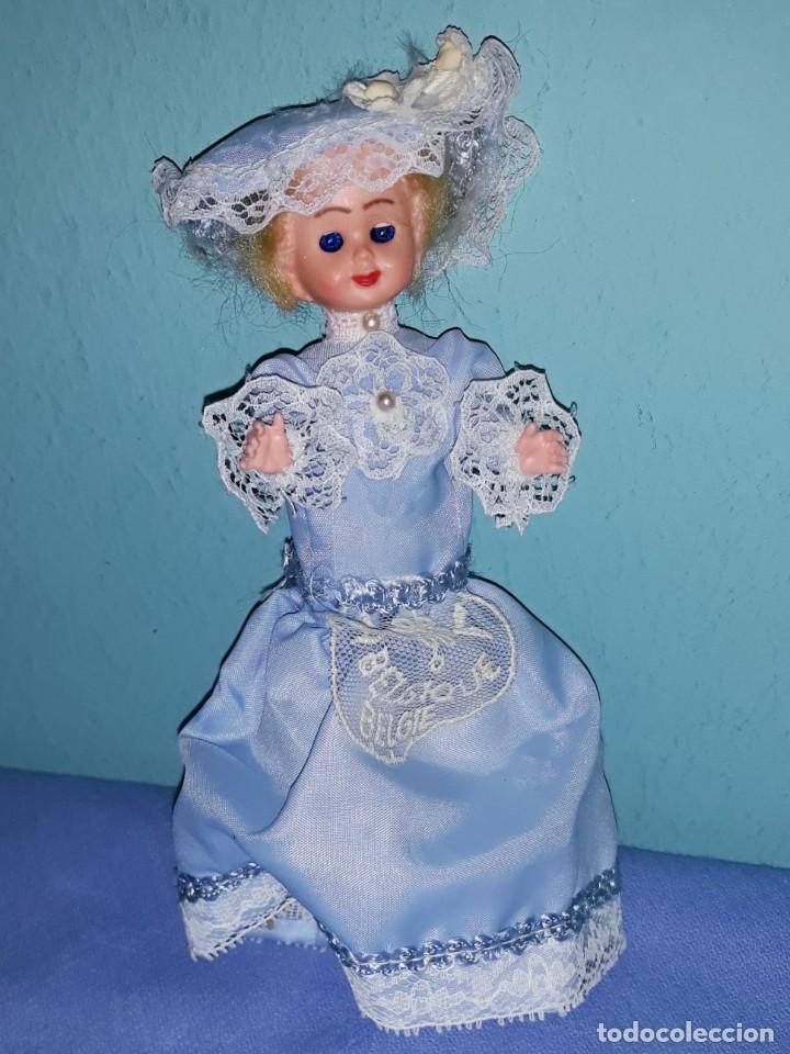 Muñecas Modernas: PEQUEÑA MUÑECA DE CELULOIDE DE BELGICA OJOS DURMIENTES ORIGINAL AÑOS 60 - Foto 2 - 184672146