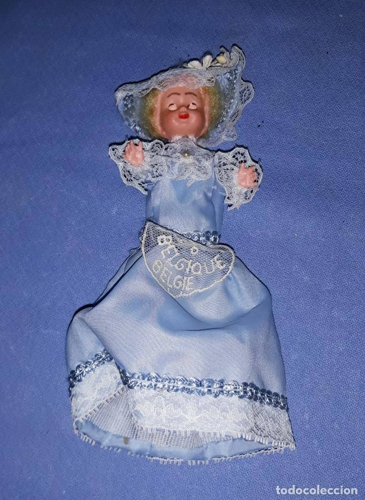 Muñecas Modernas: PEQUEÑA MUÑECA DE CELULOIDE DE BELGICA OJOS DURMIENTES ORIGINAL AÑOS 60 - Foto 3 - 184672146