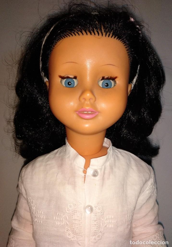 Muñecas Modernas: Muñeca de los años 60-70 ARADEANCA en 57 cm - Foto 5 - 185683907