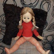 Muñecas Modernas: PRECIOSA MUÑECA CARA PARECIDA NANCY SIN MARCA GRANDE ANTIGUA. Lote 185984710