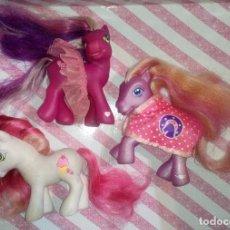 Muñecas Modernas: LOTE Nº5 DE 3 BONITOS MI PEQUEÑO PONY-MY LITTLE PONY G3 DE LOS AÑOS 2000 - HASBRO. Lote 187113867