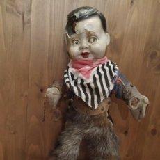 Muñecas Modernas: ANTIGUO MUÑECO COWBOY. Lote 189310298