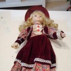 Muñecas Modernas: G-VALRMA MUÑECA DE PORCELANA LA DE FOTO. Lote 189888460