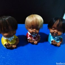 Muñecas Modernas: MUÑECOS MADE IN KOREA 1971 ( 3 EN TOTAL ). Lote 215916530