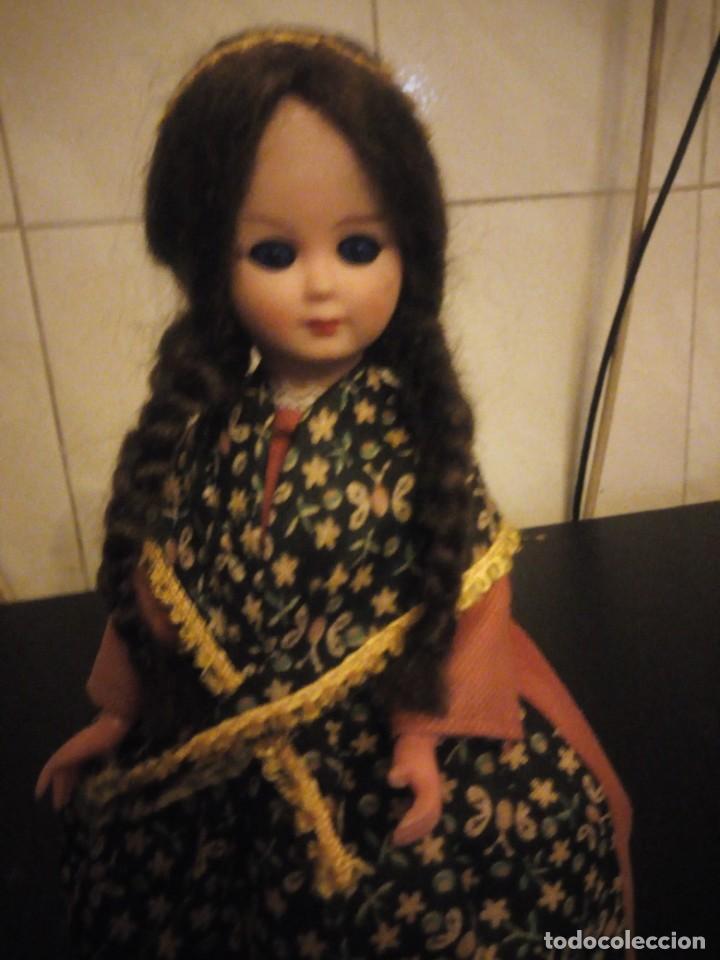Muñecas Modernas: Muñeca de vinilo regional ojos durmietes extranjeras. - Foto 5 - 190347065