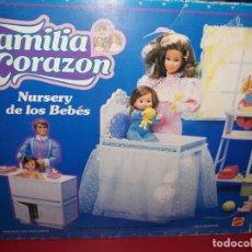 Muñecas Modernas: NURSERY DE LOS BEBÉS, DE FAMILIA CORAZON MATTEL 1986. Lote 190551052