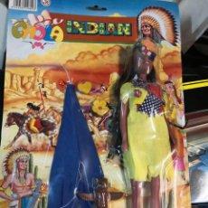 Muñecas Modernas: BLISTER MUÑECA INDIAN CHOLA DE BOYS TOYS AÑOS 80 APROXIMADAMENTE . Lote 191229998