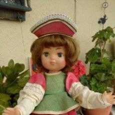 Muñecas Modernas: MUÑECA RUSA, TRAJE REGIONAL, MADE IN USSR, AÑOS 80. Lote 191413990