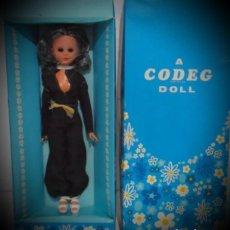 Muñecas Modernas: MUÑECA CODEG DOLL NUEVA A ESTRENAR AÑOS 70. Lote 192029906