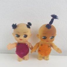 Muñecas Modernas: PAREJA DE MUÑECOS TIPO KEWPIE CHINOS AÑOS 60 - 70. Lote 193439357