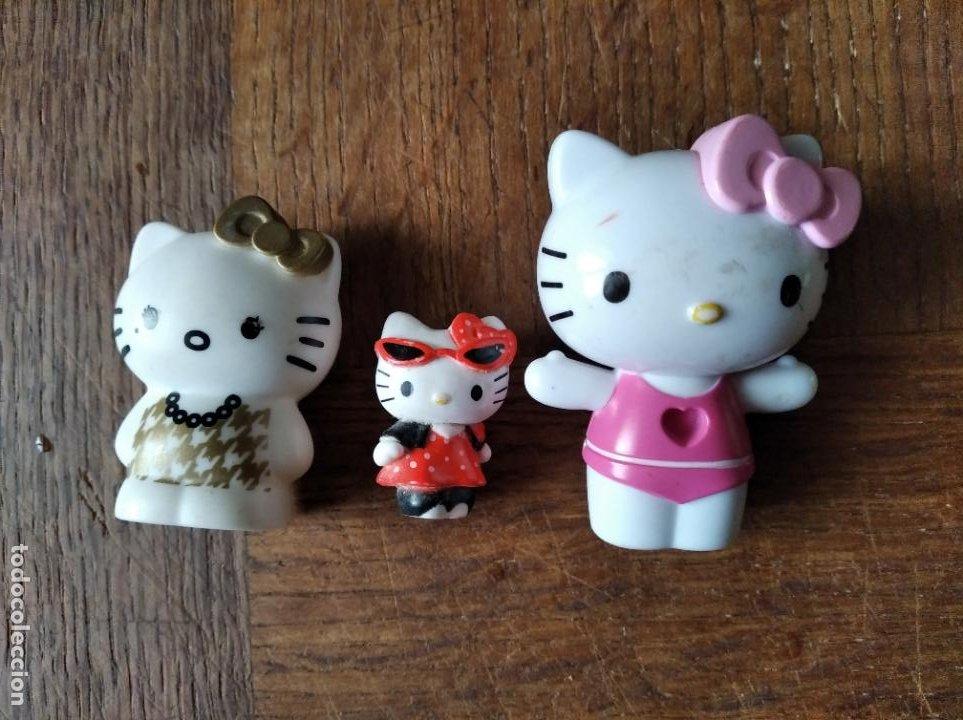 HELLO KITTY, LOTE DE 3 MUÑECAS (Juguetes - Muñeca Extranjera Moderna - Otras Muñecas)