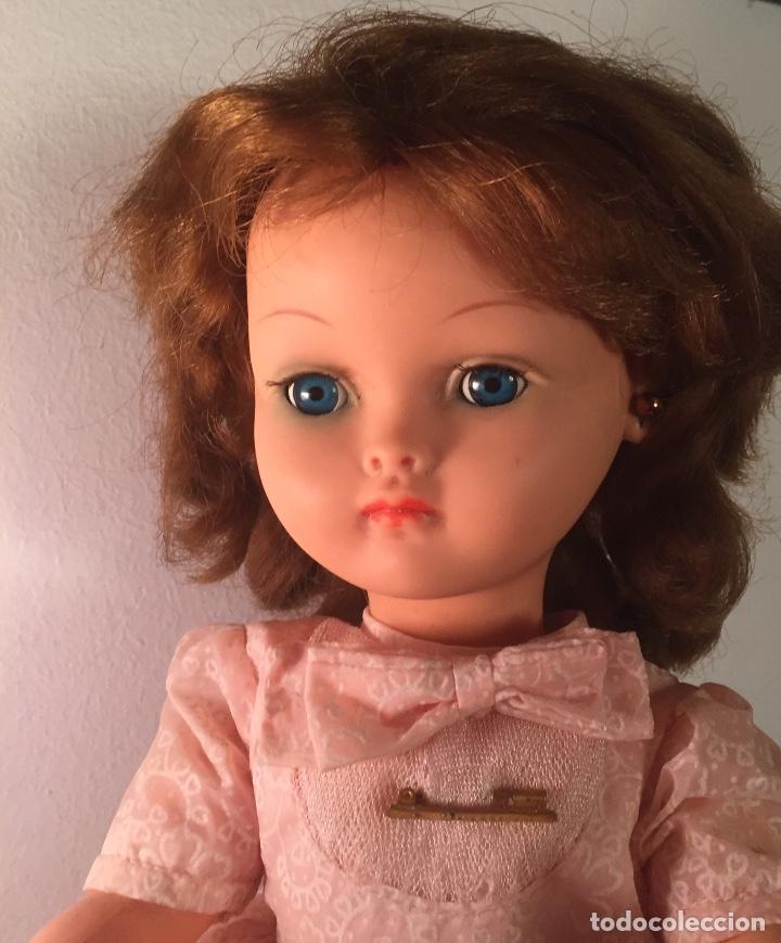 Muñecas Modernas: Preciosa muñeca Bella años cincuenta marcada vestido calzado aguja marcado todo original , preciosa - Foto 3 - 194135151