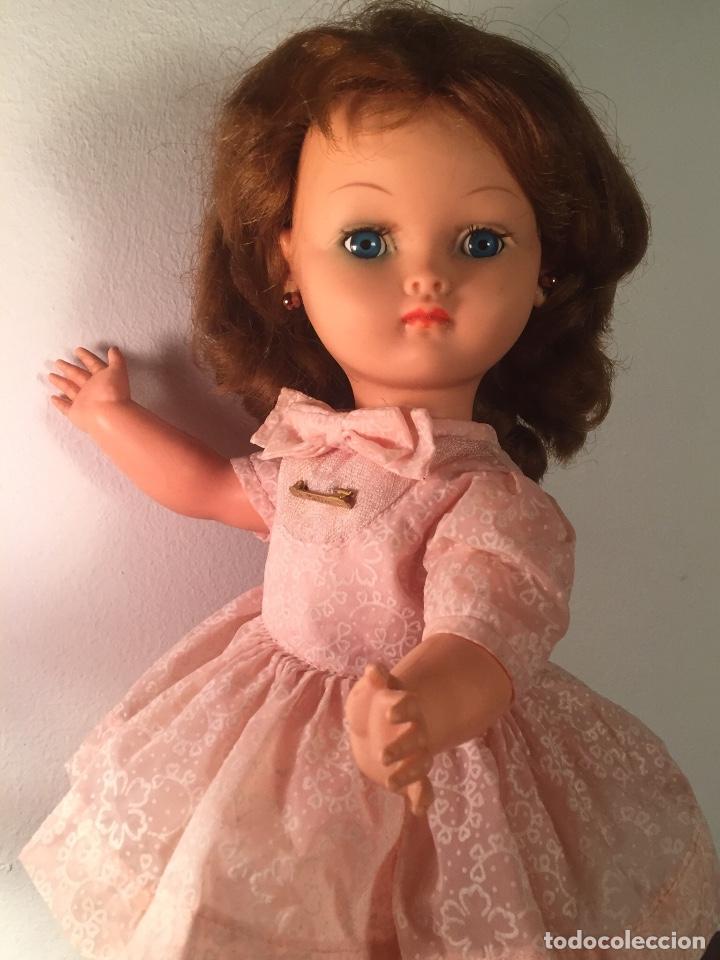 Muñecas Modernas: Preciosa muñeca Bella años cincuenta marcada vestido calzado aguja marcado todo original , preciosa - Foto 6 - 194135151