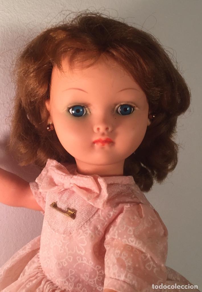 Muñecas Modernas: Preciosa muñeca Bella años cincuenta marcada vestido calzado aguja marcado todo original , preciosa - Foto 7 - 194135151