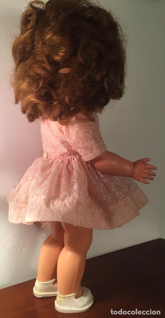 Muñecas Modernas: Preciosa muñeca Bella años cincuenta marcada vestido calzado aguja marcado todo original , preciosa - Foto 8 - 194135151
