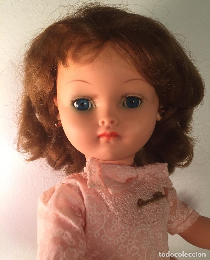 Muñecas Modernas: Preciosa muñeca Bella años cincuenta marcada vestido calzado aguja marcado todo original , preciosa - Foto 10 - 194135151