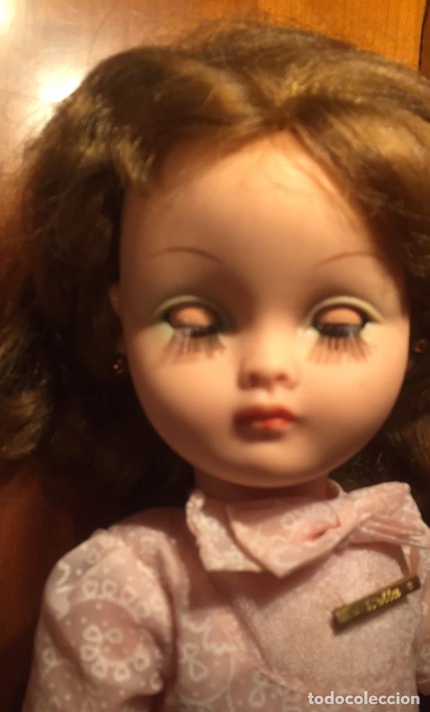 Muñecas Modernas: Preciosa muñeca Bella años cincuenta marcada vestido calzado aguja marcado todo original , preciosa - Foto 13 - 194135151