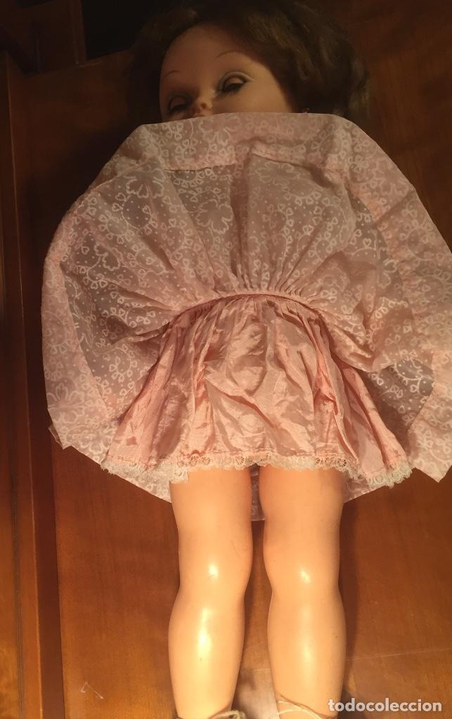Muñecas Modernas: Preciosa muñeca Bella años cincuenta marcada vestido calzado aguja marcado todo original , preciosa - Foto 15 - 194135151
