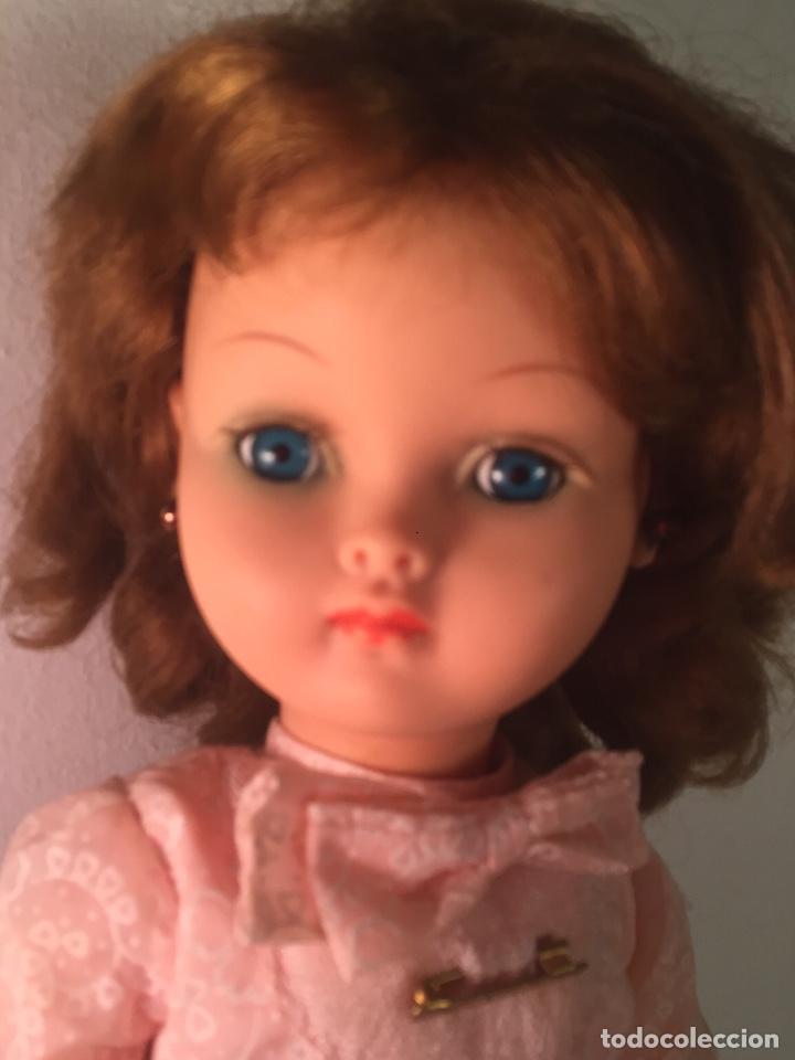 Muñecas Modernas: Preciosa muñeca Bella años cincuenta marcada vestido calzado aguja marcado todo original , preciosa - Foto 16 - 194135151