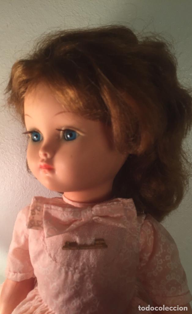 Muñecas Modernas: Preciosa muñeca Bella años cincuenta marcada vestido calzado aguja marcado todo original , preciosa - Foto 17 - 194135151