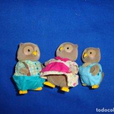 Muñecas Modernas: SYLVANIAN - FAMILIA BÚHOS VINTAGE, VER FOTOS Y DESCRIPCION! SM. Lote 194571276