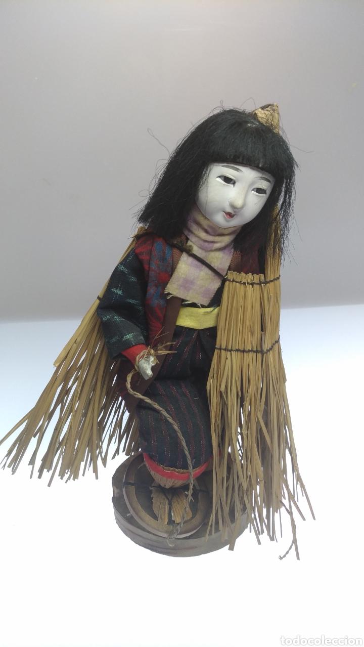 Muñecas Modernas: Muñeca japonesa. Mujer de las nieves Yuki no Inna. - Foto 2 - 195153742
