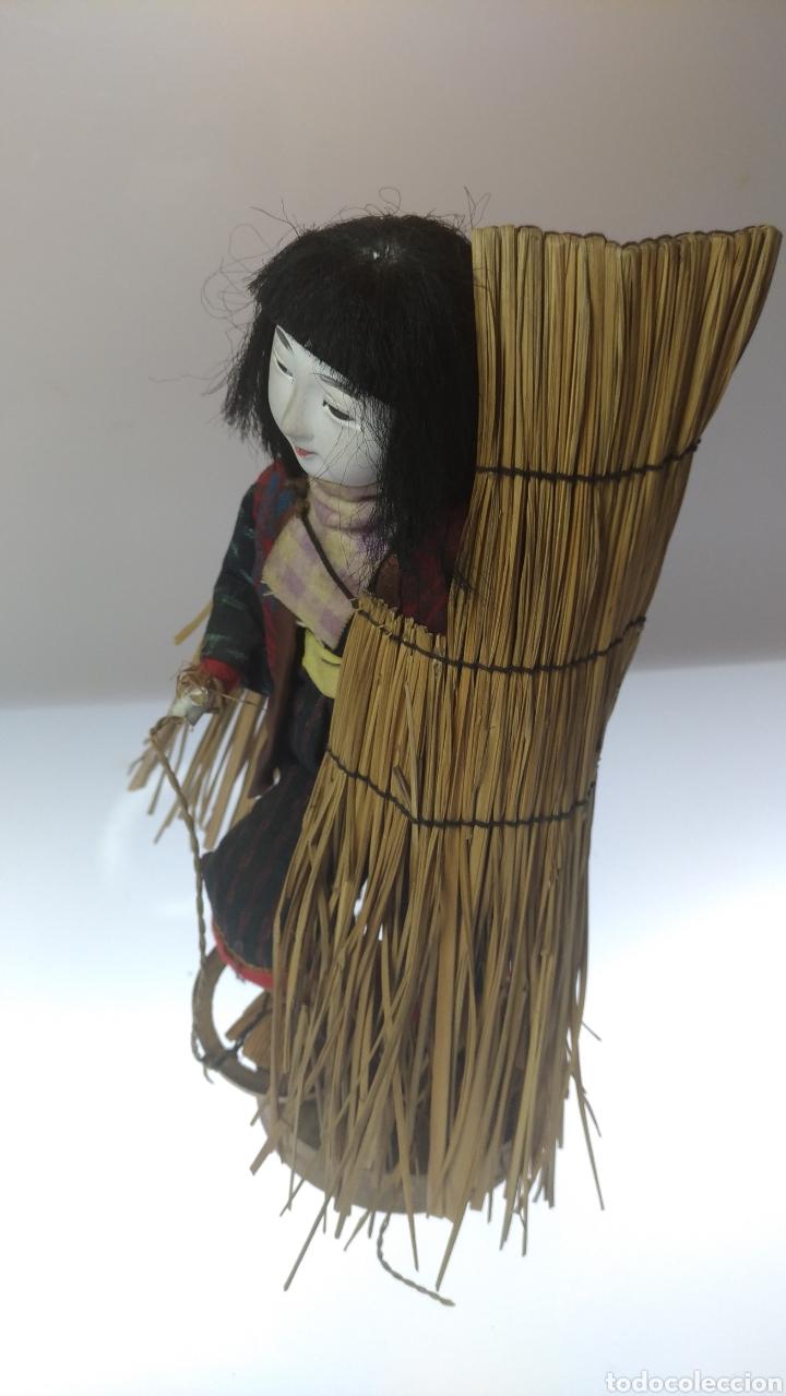Muñecas Modernas: Muñeca japonesa. Mujer de las nieves Yuki no Inna. - Foto 3 - 195153742