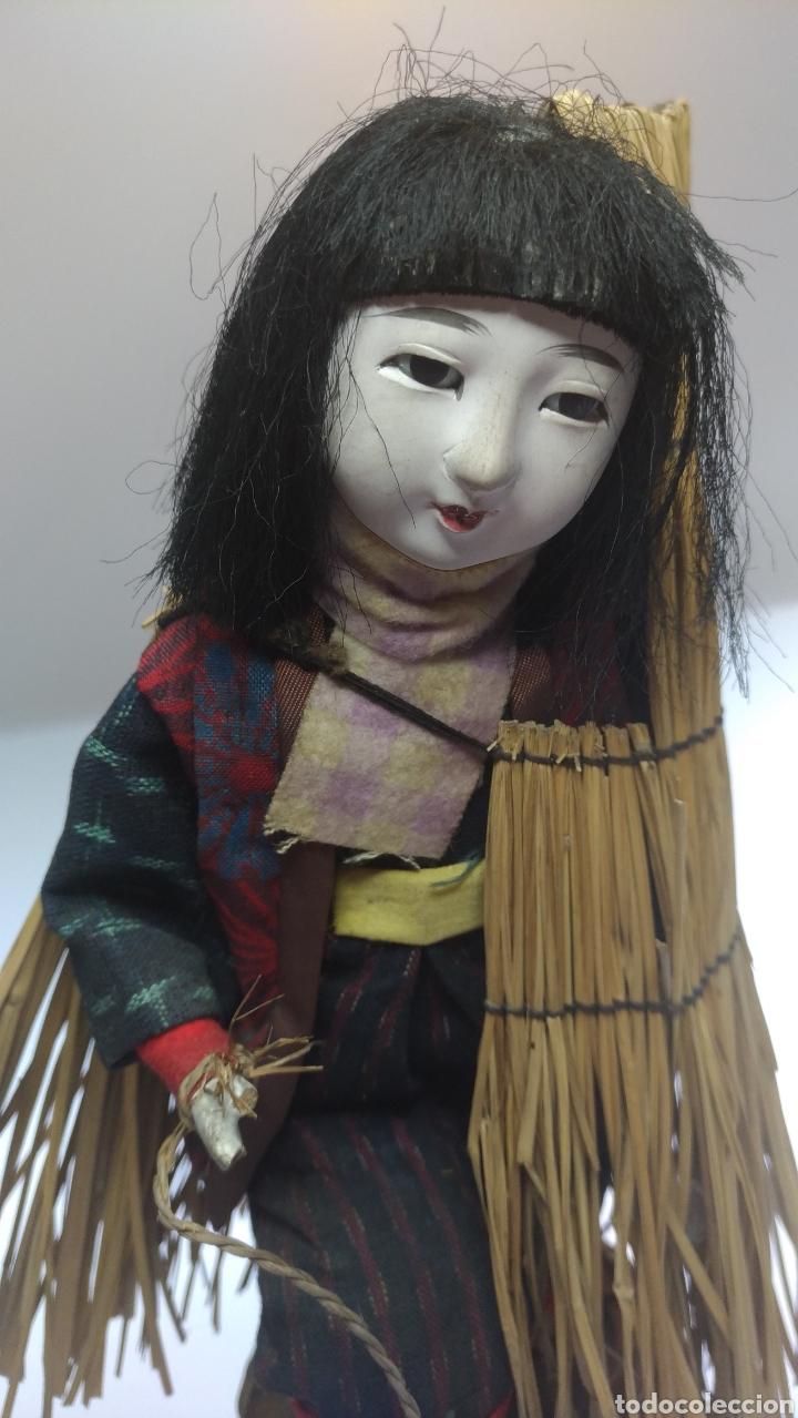 MUÑECA JAPONESA. MUJER DE LAS NIEVES YUKI NO INNA. (Juguetes - Muñeca Extranjera Moderna - Otras Muñecas)