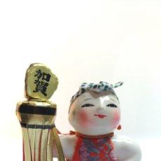 Muñecas Modernas: FIGURITA BOMBERO DE KAGA JAPON EDO 1603 1868. Lote 195154540