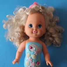 Muñecas Modernas: MUÑECA LIL MISS SIRENITA - MATTEL 1991 - LIL MISS SINGING MERMAID. Lote 195343233