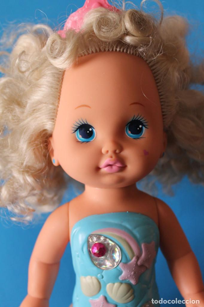 Muñecas Modernas: Muñeca Lil Miss Sirenita - Mattel 1991 - Lil Miss Singing Mermaid - Foto 2 - 195343233