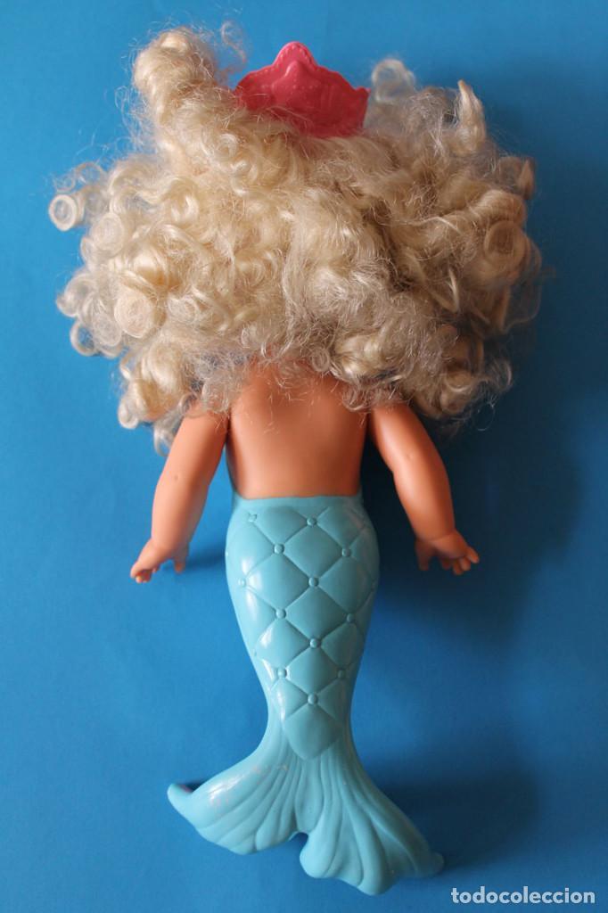 Muñecas Modernas: Muñeca Lil Miss Sirenita - Mattel 1991 - Lil Miss Singing Mermaid - Foto 4 - 195343233