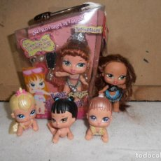 Muñecas Modernas: BRATZ BABYZ MEGGAN HAIR FLAIR - EN CAJA + MINI BABYZ. Lote 195500527