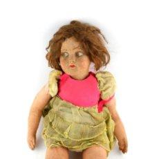 Muñecas Modernas: MUÑECA DE TRAPO, POSIBLE LENCI. 60 CM DE ALTURA.. Lote 196742451