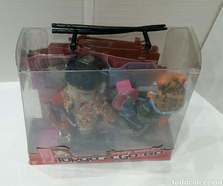 Muñecas Modernas: BRATZ BOYZ EITAN. TOKYO A GO - GO. NUEVO EN CAJA. BRATZ WORLD. BANDAI. MGA. 2004. - Foto 3 - 197258265