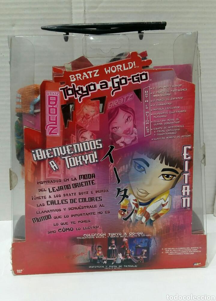 Muñecas Modernas: BRATZ BOYZ EITAN. TOKYO A GO - GO. NUEVO EN CAJA. BRATZ WORLD. BANDAI. MGA. 2004. - Foto 4 - 197258265