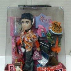 Muñecas Modernas: BRATZ BOYZ EITAN. TOKYO A GO - GO. NUEVO EN CAJA. BRATZ WORLD. BANDAI. MGA. 2004.. Lote 197258265