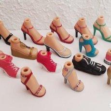 Muñecas Modernas: ZAPATOS DESPAREJADOS BRATZ CLOE - JADE. Lote 214859920
