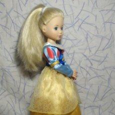 Muñecas Modernas: PRECIOSA MUÑECA JOLINA TOTALMENTE ARTICULADA, CON VESTIDO COMPLETO DE BLANCANIEVES Y SUS ZAPATOS. Lote 198036366