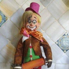 Muñecas Modernas: PAYASO DE GOMA Y ROPA FIELTRO. 40 CM. Lote 198427048