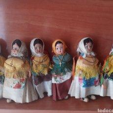 Muñecas Modernas: LOTE 6 ANTIGUAS MUÑECAS. Lote 199386660