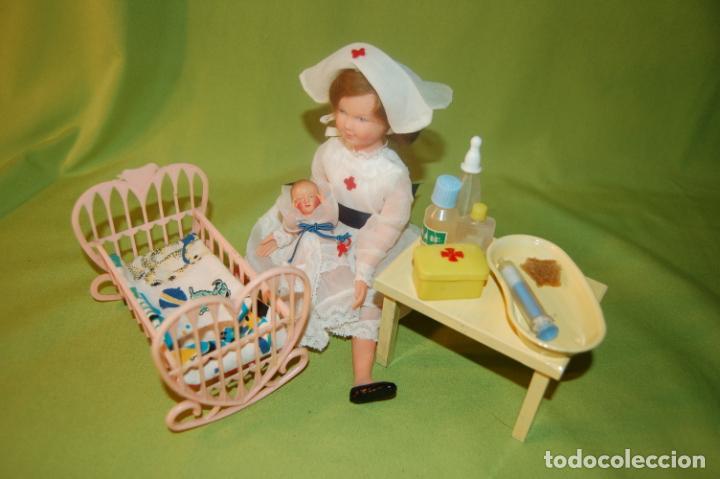 Muñecas Modernas: muñecas petit collin y accesorios - Foto 4 - 200096816