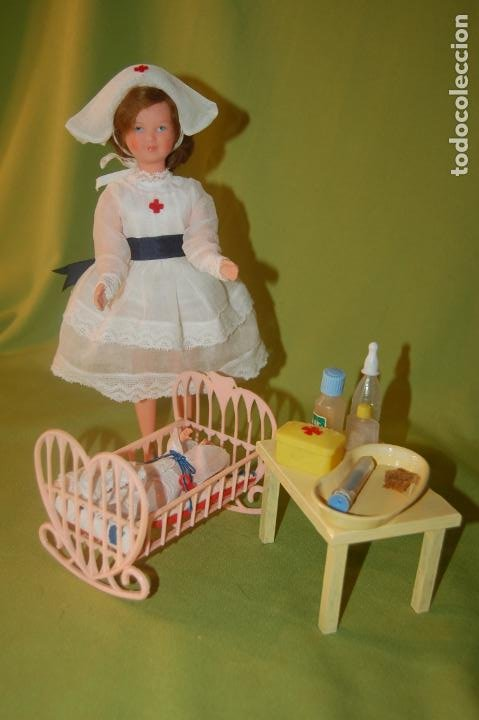 Muñecas Modernas: muñecas petit collin y accesorios - Foto 10 - 200096816