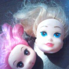 Muñecas Modernas: LOTE2,CABEZAS DE MUÑECAS,IDEAL RESTAURADORES, VER. Lote 201330271