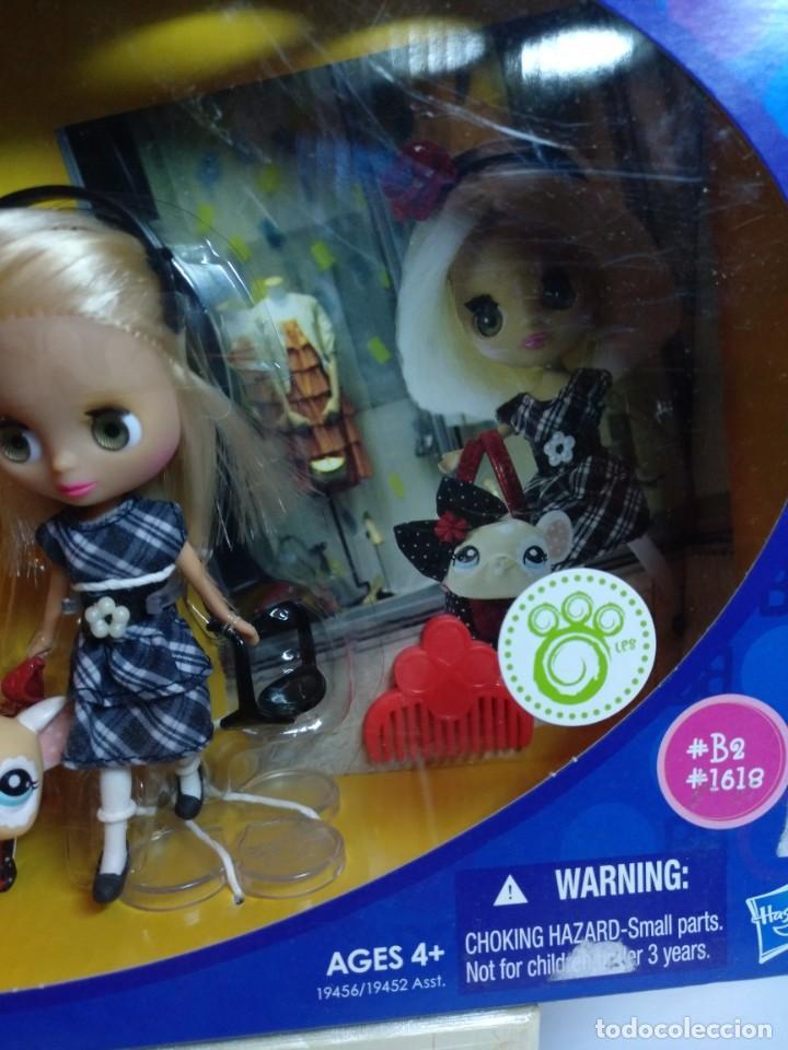 Muñecas Modernas: Muñeca Mini Blythe de Hasbro Buckles&Bows Nueva - Foto 3 - 201927977