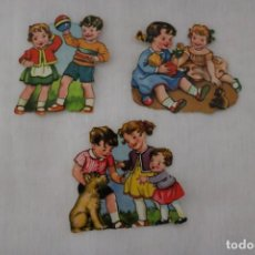 Muñecas Modernas: MUÑEQUITAS CORTADAS DE PAPEL - AÑOS 60. Lote 202830196